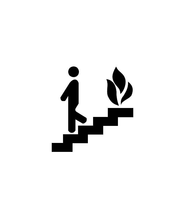 pict-fire-escape-or-fire-exit-fire-and-emergency-planning-vector-stencils-library.png-diagram-flowchart-example